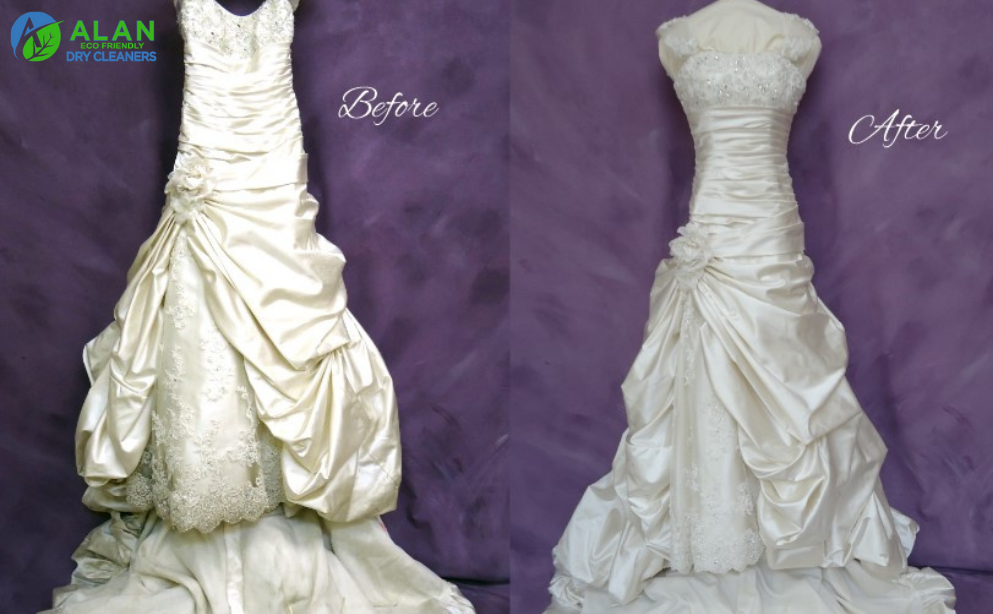Wedding Gown Cleaning Services