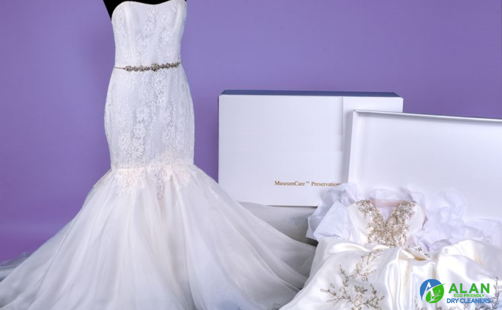 Only the Best Dry Cleaning Service Can Keep Your Wedding Gown Clean