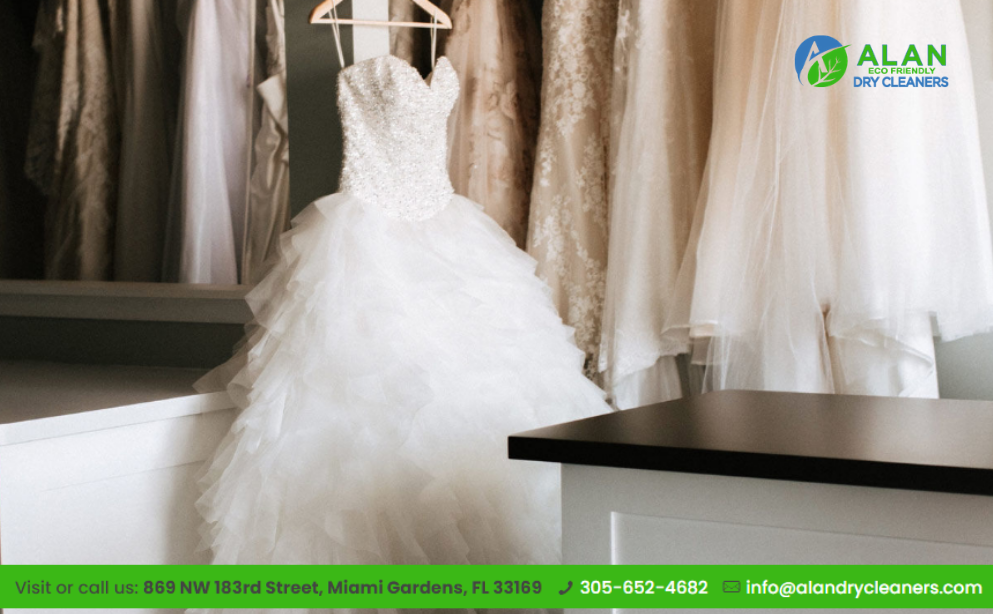 Why Hire a Professional Dry Cleaner for Wedding Gown Dry Cleaning